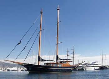 Blue Dream Motorsailer Yacht Charter Greece