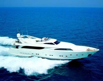 Motor Yacht PANDORA Ferretti 112 feet 34 meter