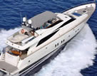 M/Y YIALOUSA GUY COUACH 92 feet luxury crewed motor yacht charter Greece