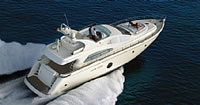 Aicon 64 Fly Available bases to embark: Sicily Milazzo to cruise in the Aeolian islands, Naples to cruise Amalfi Coast and Capri, Monte Carlo to cruise Cote D'Azur, Sardinia to cruise Emerald Coast, Corfu in Greece to cruise Ionion islands, Athens in Greece to cruise Saronic & Peloponesse (Cyclades weather permitted)