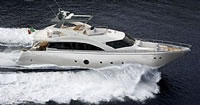 Aicon 75 Fly Available base to embark: Milazzo in Sicily to cruise the Aeolian islands