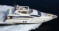 Aicon 85 Fly Available destination to embark : Monte Carlo to cruise Cote D'Azur