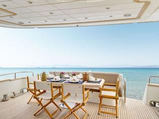 AIMILIA ALALUNGA 78 FLY motor yacht charter Greece