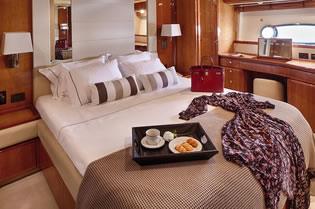 AMOR FERRETTI 77 motor yacht charter Greece