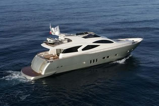 FILIPPETTI YACHTS BLUE ANGEL motor yacht charter Greece