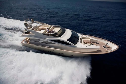 FILIPPETTI F93 YACHTS BLUE ANGEL motor yacht charter Greece