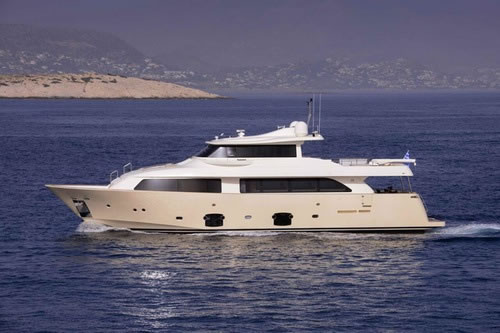 m y ferretti 85 feet dana luxury crewed motor yacht