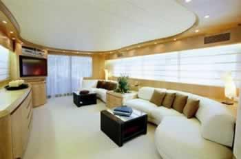 IRENE'S ex NINO Maiora 86 feet luxury crewed motor yacht charter Greece