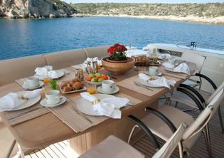 JULIE M FERRETI 83 motor yacht charter Greece