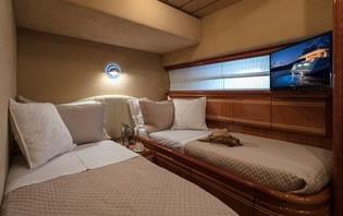 SEA DOG FERRETTI 80 motor yacht charter Greece