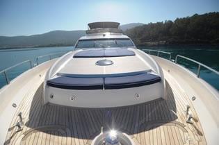 SERENITY SUNKEEPER 82 motor yacht charter Greece