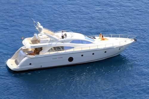 George v aicon 64 motor yacht charter greece greek islands for Motor boat rental greece