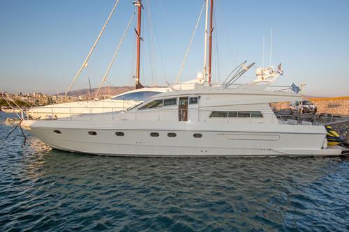 ferretti yachten 120 feet