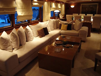 M y monaco crn 128 feet luxury crewed motor yacht charter for Adara salon durham nh