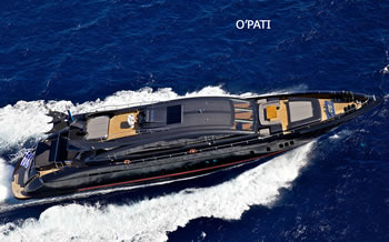 Motor Yacht O'Pati charter Greece Special Rate 16-24 July Zakynthos - Mykonos  or Athens Euro 100.000 week