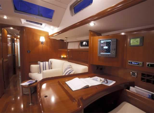 Beneteau 57 yacht charter Greece