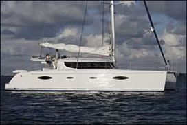 Catamaran charter Greece SALINA 48 Fountaine Pajot