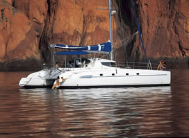 BAHIA 46 catamaran charter Greece