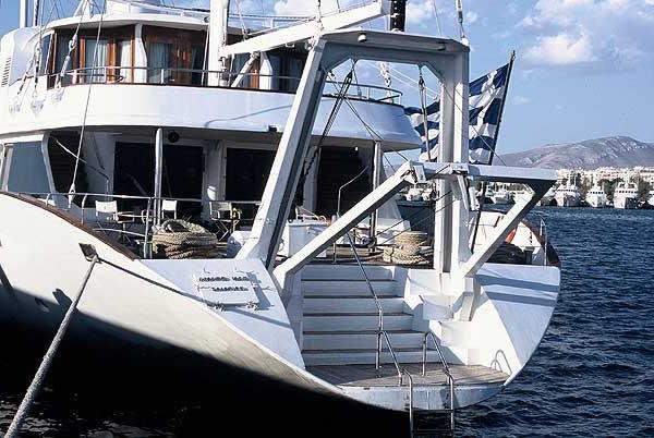 PANORAMA Mega Sailing Yacht Charter Greece