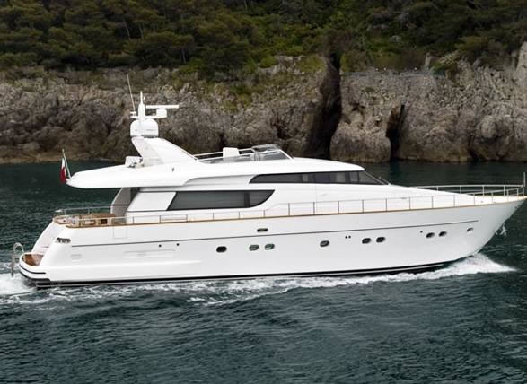 Yacht sales greece used second hand luxury motor yachts for Used motor yacht for sale